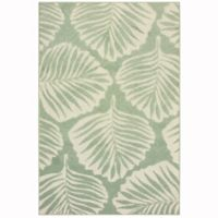 Oriental Weavers Barbados 9'10 x 12'10 Indoor/Outdoor Area Rug in Green