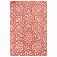 Oriental Weavers Barbados 7'10 x 10' Indoor/Outdoor Area Rug in Pink