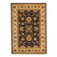 Safavieh Lyndhurst 6-Foot x 6-Foot Square Rug in Black and Ivory