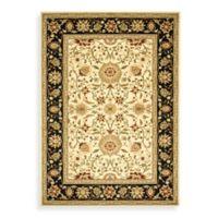 Safavieh Lyndhurst 6-Foot x 9-Foot Traditional Rug in Ivory and Black