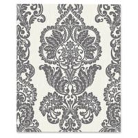 Fine Décor Rochester Damask Wallpaper in Charcoal