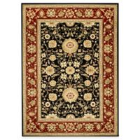 Safavieh Lyndhurst Collection 6-Foot x 9-Foot Rug in Black and Red