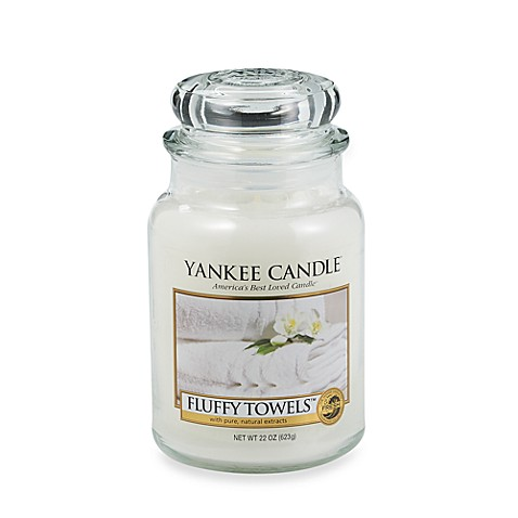 Yankee Candle® Fluffy Towels™ Candles - Bed Bath & Beyond