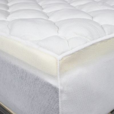 thick mattress pad. Perfect Mattress ELuxury Extra Thick California King Rayon From Bamboo Mattress Pad In White For M