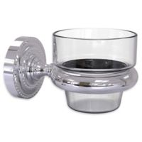 Allied Brass Dottingham Collection Wall Mounted Votive Candle Holder in Polished Chrome