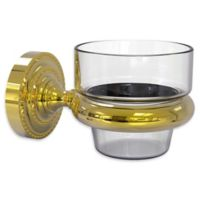 Allied Brass Dottingham Collection Wall Mounted Votive Candle Holder in Polished Brass
