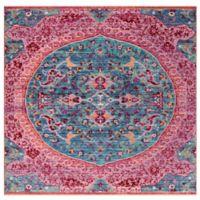 Safavieh Sutton 6' x 6' Patricia Rug in Turquoise