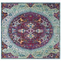 Safavieh Sutton 6' x 6' Patricia Rug in Purple