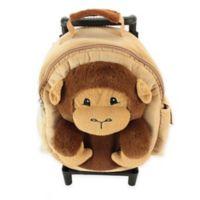 Animal Adventure Jolly Trolley Monkey in Tan/Brown