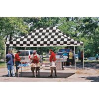 ShelterLogic® Pro Series 10-Foot x 15-Foot Straight Leg Canopy in Checkered Flag
