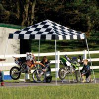 ShelterLogic® Sport Series 10-Foot x 10-Foot Slant Leg Canopy in Checkered Flag
