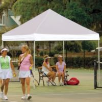ShelterLogic® Pro Series 10-Foot x 10-Foot Straight Leg Canopy in White