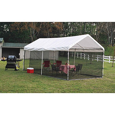 Shelterlogic 174 Canopy Screen Kit 10 Foot X 20 Foot Bed