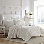 Laura Ashley Maisy Quilt Set T White