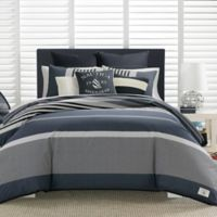 Nautica® Rendon Full/Queen Duvet Cover Set in Charcoal