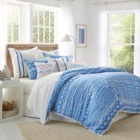 Southern Tide® Summer Daze Reversible Full/Queen Comforter Set in Blue