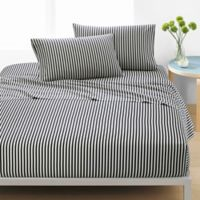marimekko® Ajo Printed King Sheet Set in Black