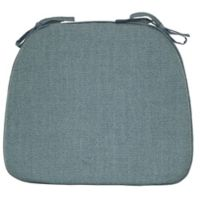 Mayfair Foam Chair Pad in Aqua