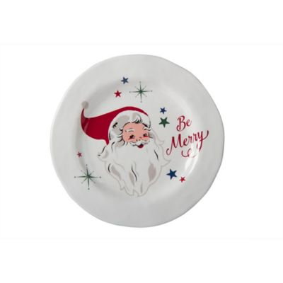Vintage Holiday Santa Claus Melamine Salad Plate  sc 1 st  Bed Bath \u0026 Beyond & Buy Vintage Dinner Plates from Bed Bath \u0026 Beyond