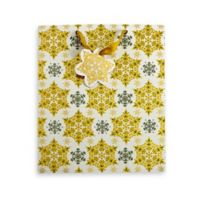 Golden Flakes Gift Bag in Gold