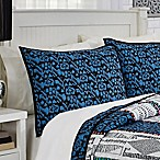 Dakota Standard Pillow Sham in Blue