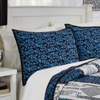 Dakota Standard Pillow Sham in Blue
