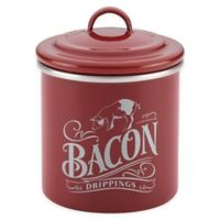 Ayesha Curry™ Bacon Grease Can in Sienna Red