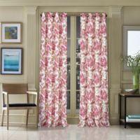 J. Queen New York™ Pristina 95-Inch Grommet Top Window Curtain Panel in Pink