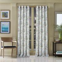 J. Queen New York™ Pristina 95-Inch Grommet Top Window Curtain Panel in Grey
