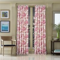 J. Queen New York™ Pristina 84-Inch Rod Pocket Window Curtain Panel in Pink
