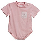 "Sovereign Code™ Size 0-3M ""The Dude"" Pocket Short Sleeve Bodysuit in Pink"