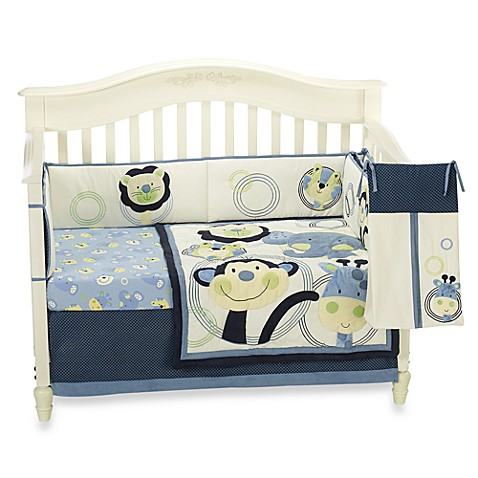 Nojo® Animal Park 6-Piece Crib Bedding Set