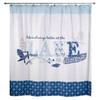 Avanti Lake Life Shower Curtain
