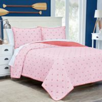 Southern Tide® Skipjack Reversible Full/Queen Quilt in Coral
