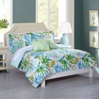 Lahaina 5-Piece Full/Queen Comforter Set in Green