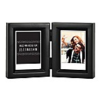 "Gallery 2-Opening 2.5-Inch x 3.5"" Wood Frame in Black"