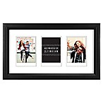 "Gallery 3-Opening 2.5-Inch x 3.5"" Wood Frame in Black"