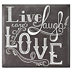 Live Laugh Love Scrapbook