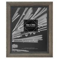 Grandis 8-Inch x 10-Inch Wood Frame in Grey Black