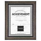 Grandis 8.5-Inch x 11-Inch Wood Frame in Grey/Black