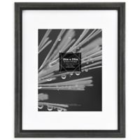 Grandis 11-Inch x 14-Inch Matted Wood Frame in Black