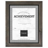 Timber 8.5-Inch x 11-Inch Wood Frame in Grey/Black