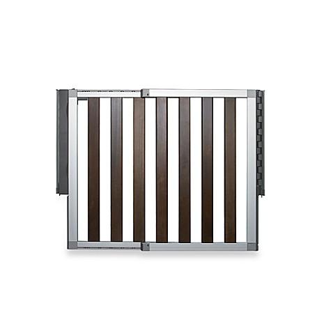 Buy Munchkin Loft Dark Wood Gate From Bed Bath Amp Beyond