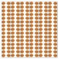 Wall Vision Scandinavian Designers II Berså Leaf Wallpaper in Orange
