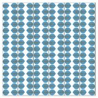 Wall Vision Scandinavian Designers II Berså Leaf Wallpaper in Blue