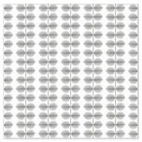 Wall Vision Scandinavian Designers II Berså Leaf Wallpaper in Grey