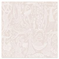 Wall Vision Poem d´Amour Folk Wallpaper in Blush