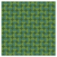 Wall Vision Vertigo Geometric Wallpaper in Green