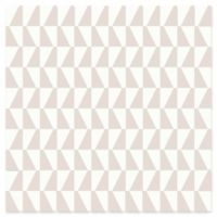Brewster Home Fashions Trapez Geometric Wallpaper in Blush