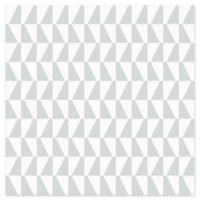 Brewster Home Fashions Trapez Geometric Wallpaper in Sage